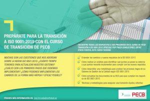Prepárate para la transición a ISO 9001:2015 con el curso de transición de PECB